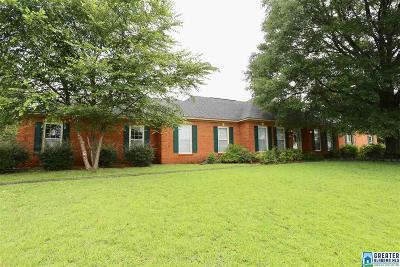 Anniston Single Family Home For Sale: 3315 Greenbrier Dear Rd