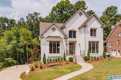 Homewood AL Single Family Home For Sale: $489,900