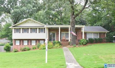 Hoover Single Family Home For Sale: 3325 Winchester Rd