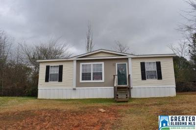Randolph County Manufactured Home For Sale: 392 Co Rd 806