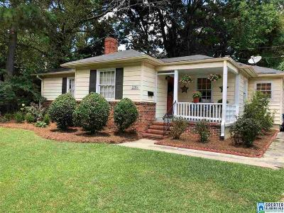 Homewood Single Family Home For Sale: 236 Kent Ln