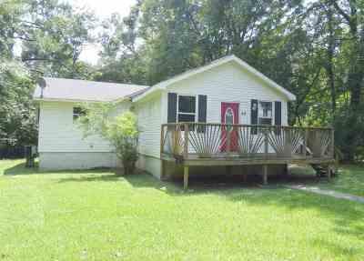 Wilsonville AL Single Family Home For Sale: $62,500