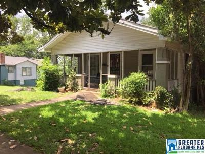 Birmingham Single Family Home For Sale: 1600 30th St