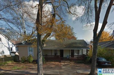 Birmingham AL Single Family Home For Sale: $59,900
