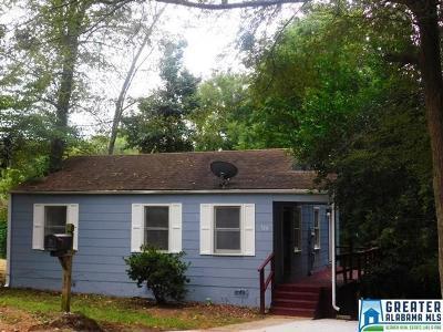 Birmingham, Homewood, Hoover, Irondale, Mountain Brook, Vestavia Hills Rental For Rent: 720 83rd St S