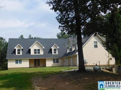 Clay County, Cleburne County, Randolph County Single Family Home For Sale: 3254 Co Rd 1