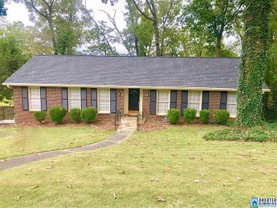 Vestavia Hills AL Single Family Home For Sale: $289,000