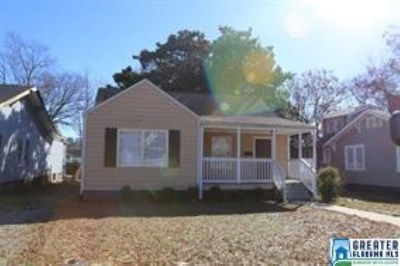 Birmingham, Homewood, Hoover, Irondale, Mountain Brook, Vestavia Hills Rental For Rent: 3015 Ave H