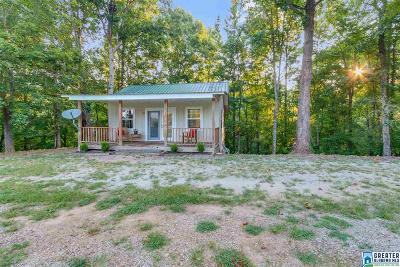 Wedowee Single Family Home For Sale: 98-Cabin Dobson Mill Rd