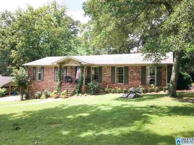Vestavia Hills Single Family Home For Sale: 1202 Green Glen Rd