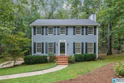 Riverchase Single Family Home For Sale: 2112 Crossridge Ln