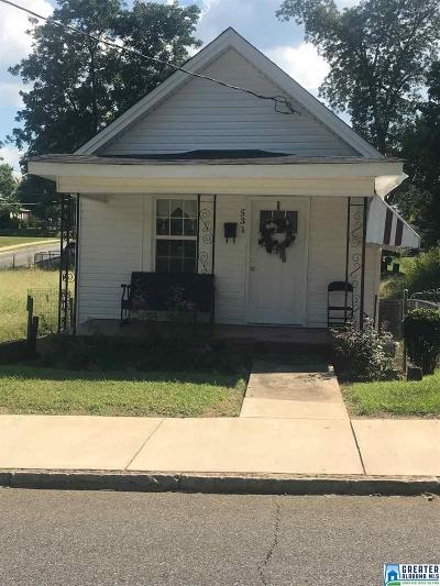 Birmingham AL Single Family Home For Sale: $28,900
