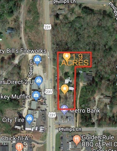 Commercial For Sale: 18572 Hwy 231