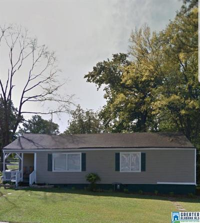 Birmingham AL Single Family Home For Sale: $10,000