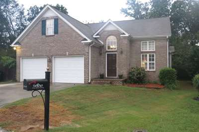 Single Family Home For Sale: 8709 Dover Dr