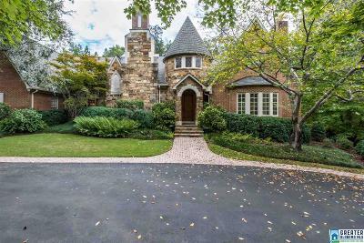 Vestavia Hills Single Family Home For Sale: 1749 Vestwood Hills Dr