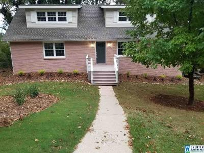 Hoover Single Family Home For Sale: 313 Shadeswood Dr