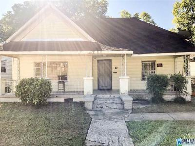 Birmingham AL Single Family Home For Sale: $36,500