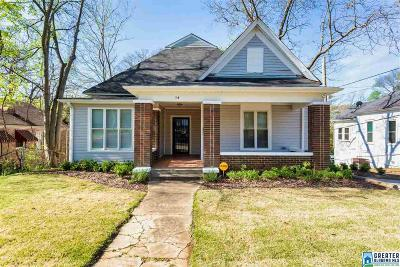 Birmingham Single Family Home For Sale: 14 80th St S