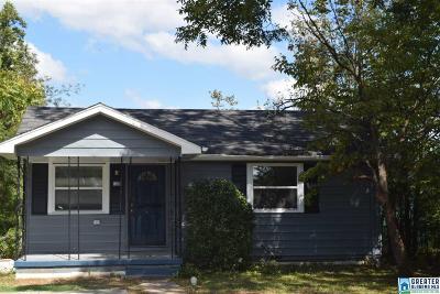 Birmingham AL Single Family Home For Sale: $74,900