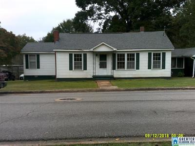 Talladega Single Family Home For Sale: 502 Heath St