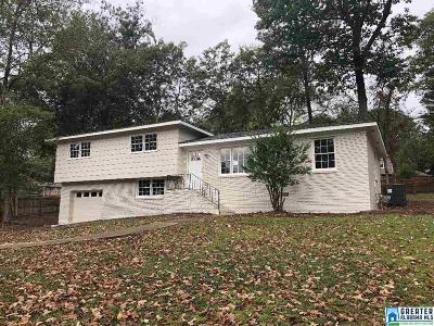 Hoover Single Family Home For Sale: 1128 Regent Dr
