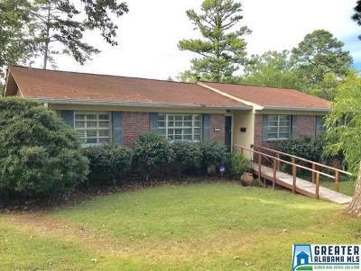 Birmingham AL Single Family Home For Sale: $274,900