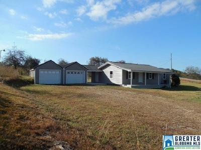 Clay County, Cleburne County, Randolph County Single Family Home For Sale: 4722 Co Rd 48