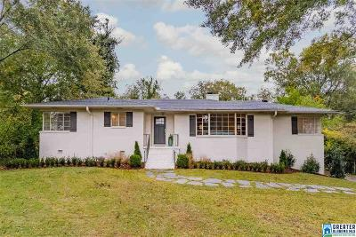 Hoover Single Family Home For Sale: 409 Shades Crest Rd