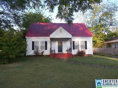 Talladega Single Family Home For Sale: 708 Central Ave