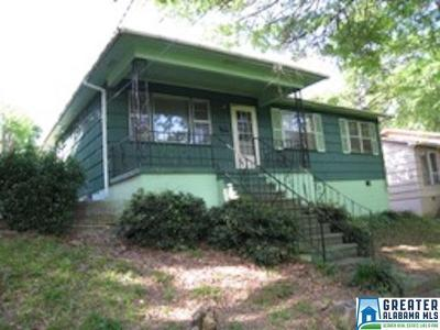 Tarrant AL Single Family Home For Sale: $49,000