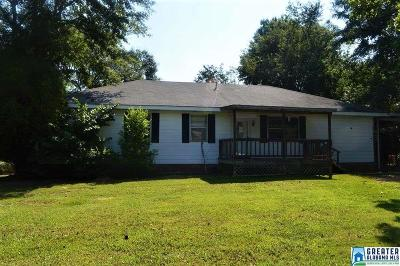 Talladega Single Family Home For Sale: 359 Green Tree Dr
