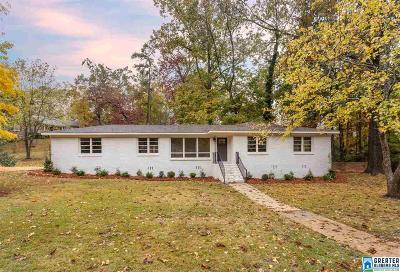 Birmingham Single Family Home For Sale: 628 Valley Dr