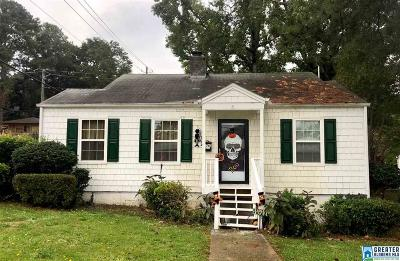 Birmingham AL Single Family Home For Sale: $65,000