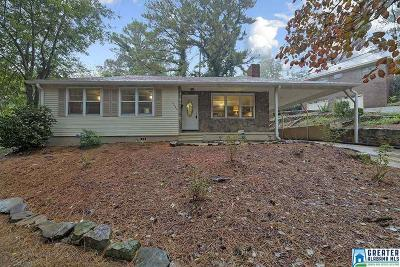 Birmingham AL Single Family Home For Sale: $179,900