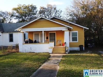Birmingham Single Family Home For Sale: 1516 Alabama Ave