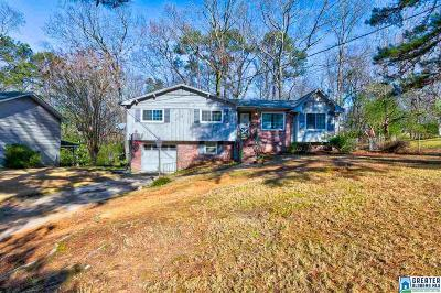 Birmingham AL Single Family Home For Sale: $124,900