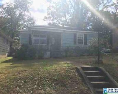 Birmingham AL Single Family Home For Sale: $16,600