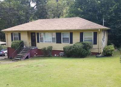 Birmingham AL Single Family Home For Sale: $89,900