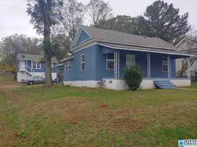 Bessemer Single Family Home For Sale: 5611 15th St S