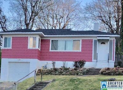 Birmingham, Homewood, Hoover, Irondale, Mountain Brook, Vestavia Hills Rental For Rent: 813 W 46th St
