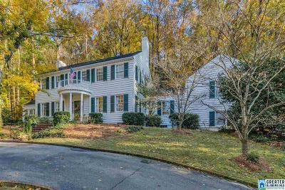 Mountain Brook Single Family Home For Sale: 3262 Overbrook Rd