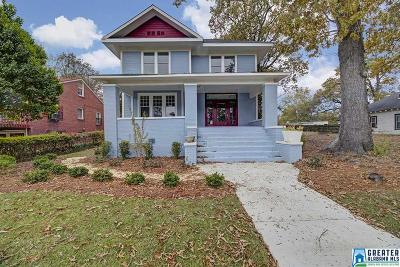 Birmingham Single Family Home For Sale: 1412 31st St N