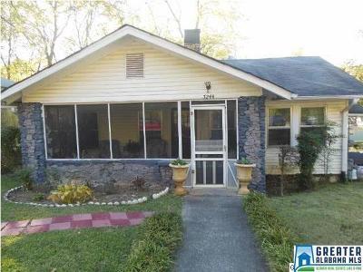 Birmingham, Homewood, Hoover, Irondale, Mountain Brook, Vestavia Hills Rental For Rent: 7244 Sparta Ave