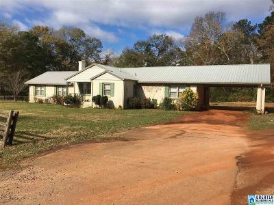 Talladega Single Family Home For Sale: 1004 North St E