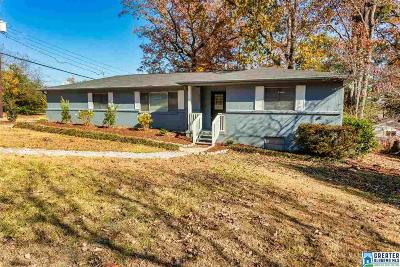 Hoover Single Family Home For Sale: 2201 Sherwood Pl