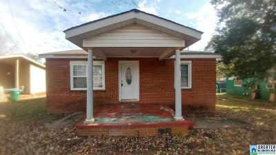 Talladega Single Family Home For Sale: 129 Elbert Davis St