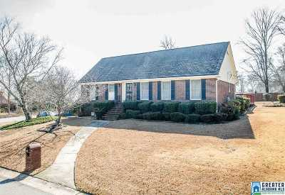Hoover Single Family Home For Sale: 2540 Oneal Cir