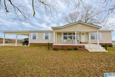 Clay County, Cleburne County, Randolph County Single Family Home For Sale: 15876 Co Rd 10