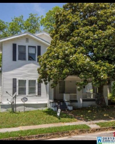 Bessemer Single Family Home For Sale: 1608 3rd Ave N
